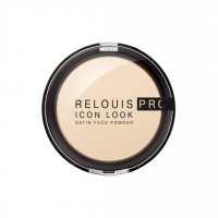 Пудра компактная RELOUIS PRO Icon Look Satin Face Powder т.00